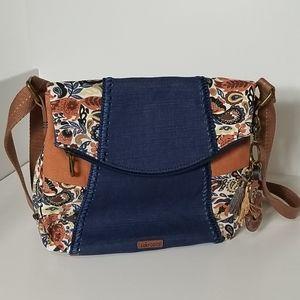 New - Sakroots Foldover Crossbody Bag/Purse
